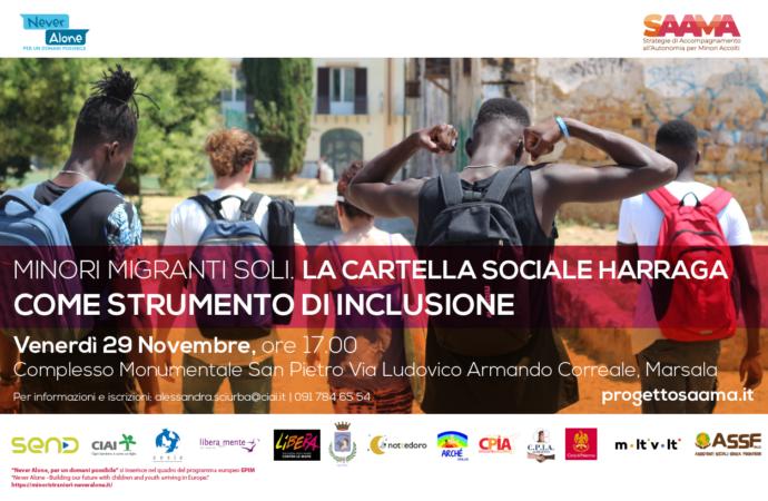 Percorsi di inclusione per minori migranti, si presenta un progetto a Marsala