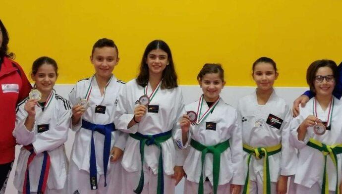 Taekwondo, cinque mazaresi sul podio a Cosenza