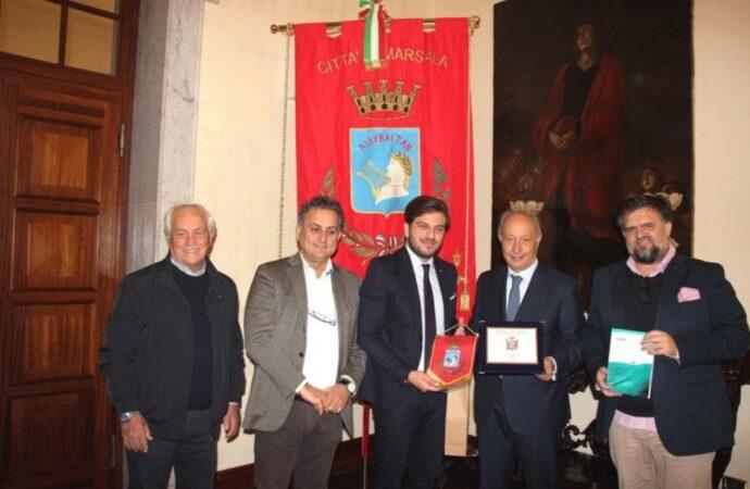 Il sindaco di Marsala incontra il console onorario dello Zambia in Sicilia