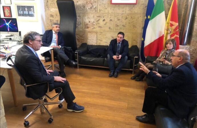 Delegazione forzista di Salaparuta incontra Micciche'