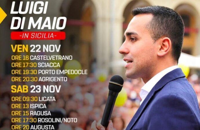 Weekend in Sicilia per il ministro Di Maio