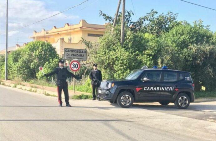 Stalking e maltrattamenti in famiglia, scattano due misure cautelari a Campobello
