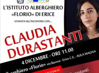 Incontro con l'autore all'istituto alberghiero di Erice con Claudia Durastanti