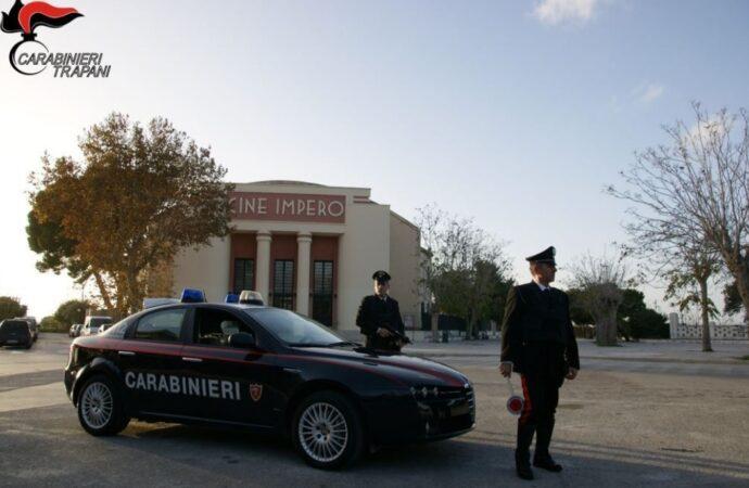 Controlli dei carabinieri a Marsala, denunciate 5 persone