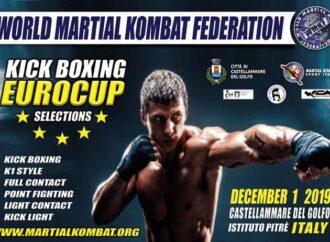 A Castellammare un torneo di selezione per i campionati europei di arti marziali e kick boxing