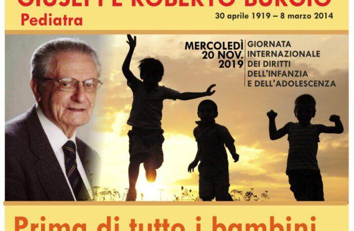 Prima di tutto i bambini, manifestazione in ricordo del pediatra Giuseppe Roberto Burgio