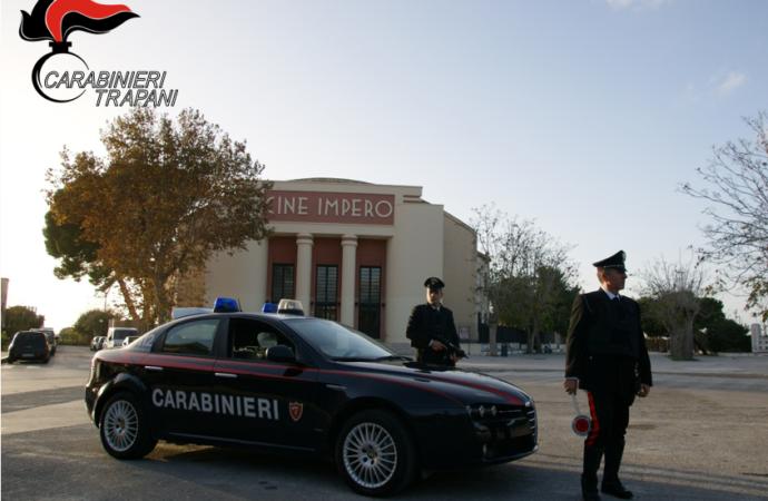 Un ventiduenne marsalese arrestato dai carabinieri durante un servizio di controllo antidroga