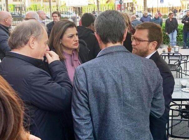 Incontro di alcuni amministratori del trapanese con il ministro per il sud Provenzano