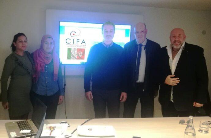 Gettate le basi per accordi di collaborazione tra Cifa Italia e attività imprenditoriali della Tunisia