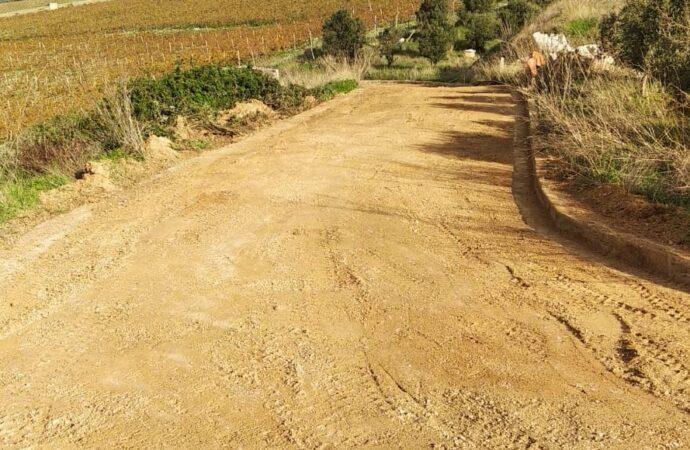 """Al via ad Alcamo i lavori di manutenzione sulla strada """"Fastuchera"""""""