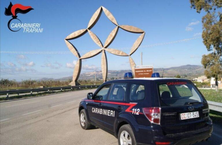 I carabinieri sventano due furti a Castelvetrano e Gibellina, scattano 5 arresti in flagranza
