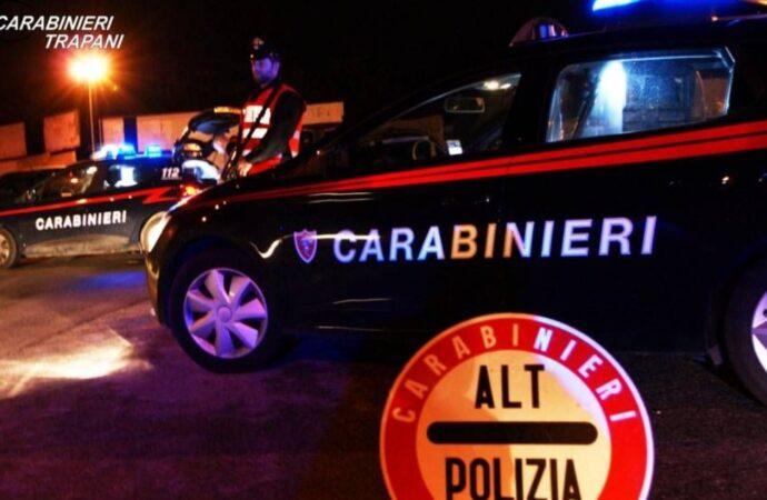Correre della droga bloccato dai carabinieri ad Alcamo