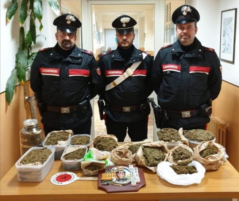 Castelvetrano, 51enne gibellinese arrestato per droga