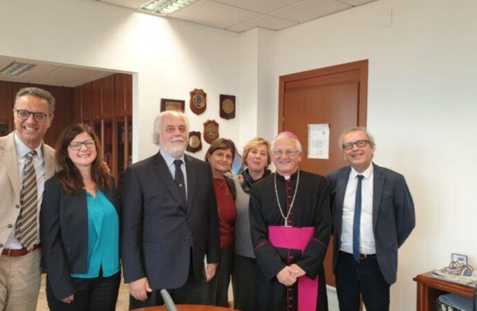 Trapani, il vescovo Fragnelli in visita alle istituzioni civili e militari del territorio