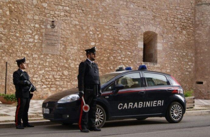 Alcamese arrestato dai carabinieri per resistenza e oltraggio a pubblico ufficiale
