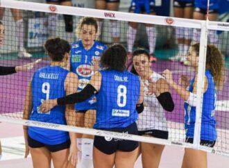 Volley, vittoria all'ultimo respiro per la Sigel