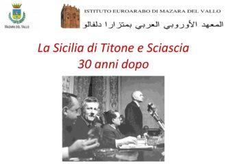 Convegno a Mazara dell'istituto Euroarabo su Virgilio Titone e Leonardo Sciascia