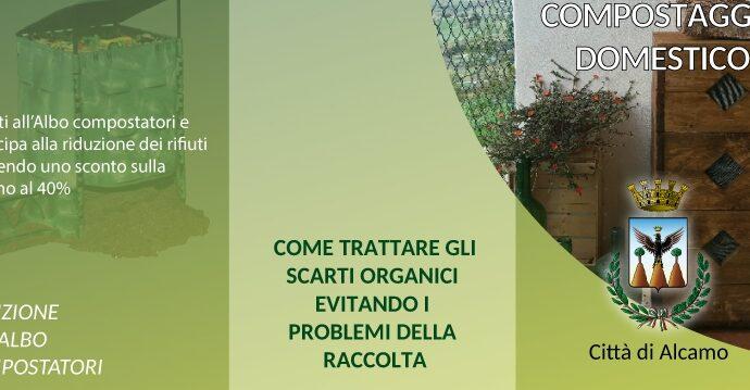 Sarà presentato domani ad Alcamo il progetto sul compostaggio domestico