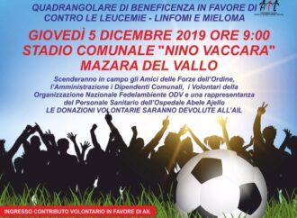 Video – Intervista durante il quadrangolare di calcio allo stadio di Mazara in favore dell'Ail