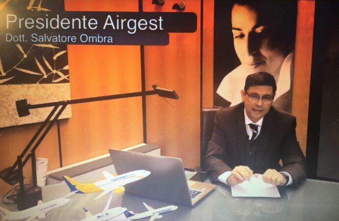 Aeroporto Florio, il presidente Ombra fa un'analisi dei 100 giorni alla guida dell'Airgest