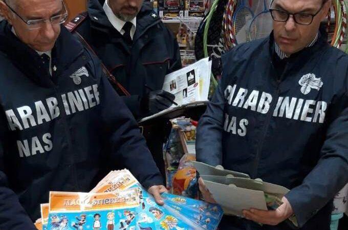 """Operazione """"Natale sicuro"""", sequestrati dai carabinieri di Marsala 3400 articoli pericolosi"""