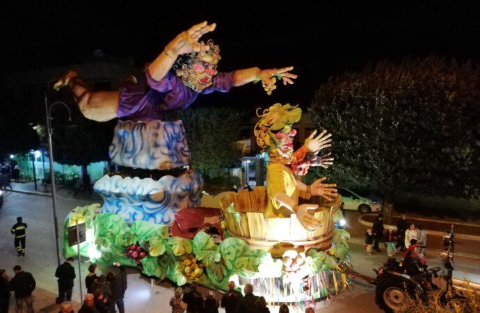 Carnevale 2020 a Petrosino, svelati i nomi dei primi 4 carri allegorici partecipanti