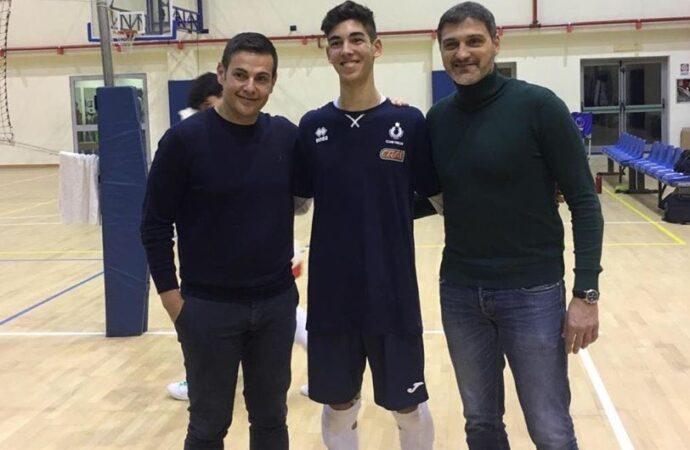 Stage nella nazionale giovanile per Emanuele Bonsignore della pallavolo Mazara 95