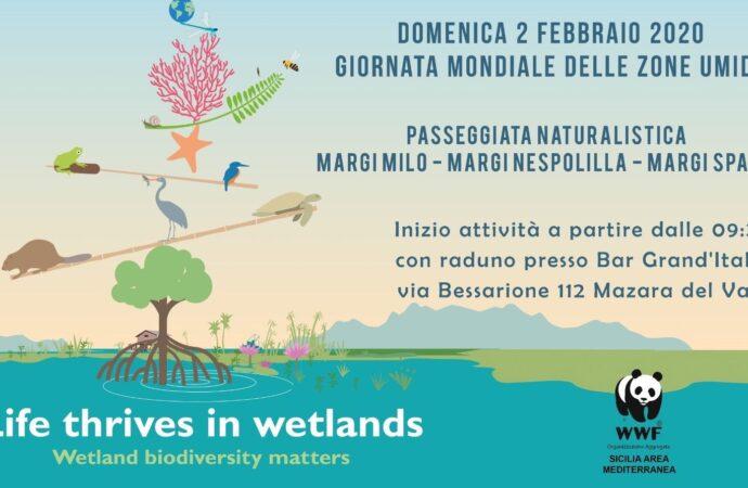 Mazara, iniziativa del Wwf per la giornata dedicata alle zone umide