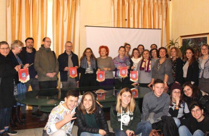 Studenti dei sei paesi in visita a Marsala nell'ambito del progetto Erasmus
