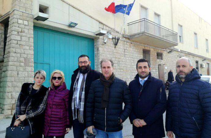 Delegazione del M5s in visita al carcere Cerulli di Trapani