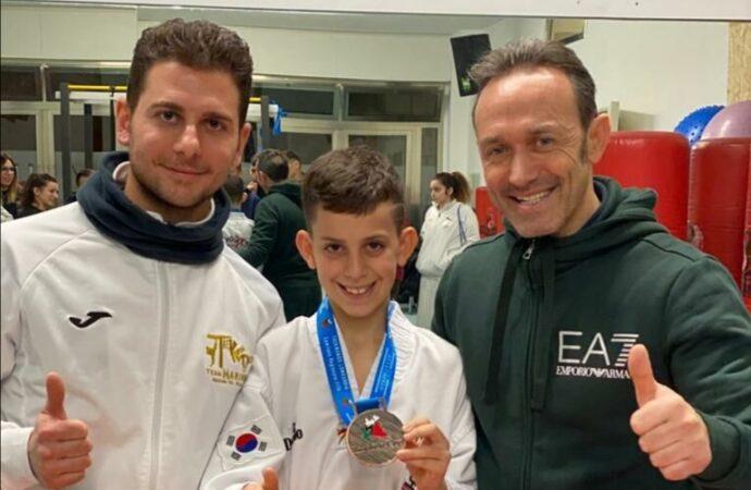 Taekwondo, il mazarese Gancitano conquista il bronzo all'Insubria Cup 2020