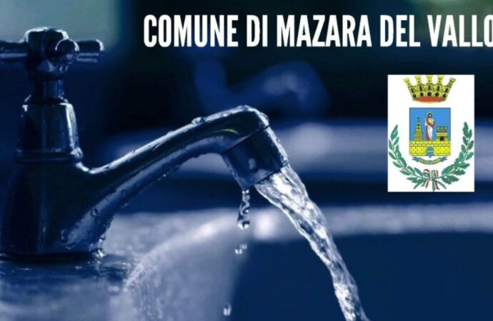 Mazara, cambiano i turni di erogazione dell'acqua