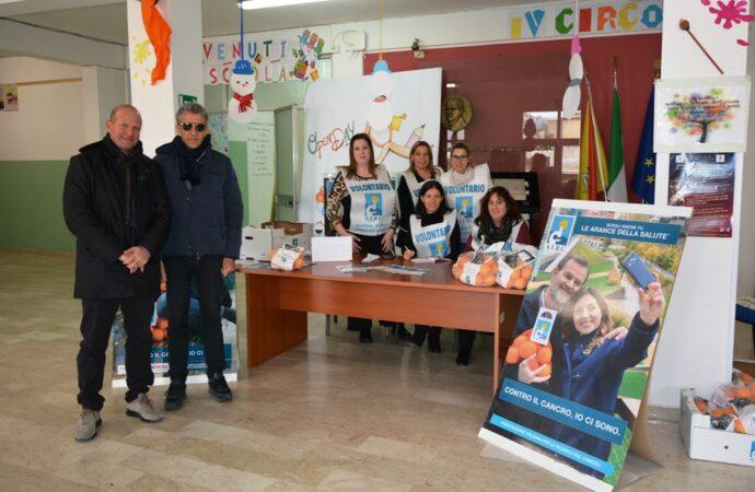 """""""Le arance della salute"""",  iniziativa del IV Circolo didattico di Mazara"""