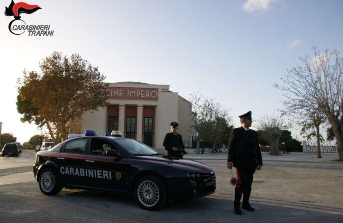 Controlli antidroga dei carabinieri di Marsala, arrestato un 54enne palermitano