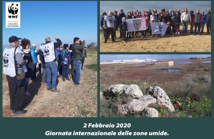 Petrosino, iniziativa del Wwf per la giornata internazionale delle Zone umide