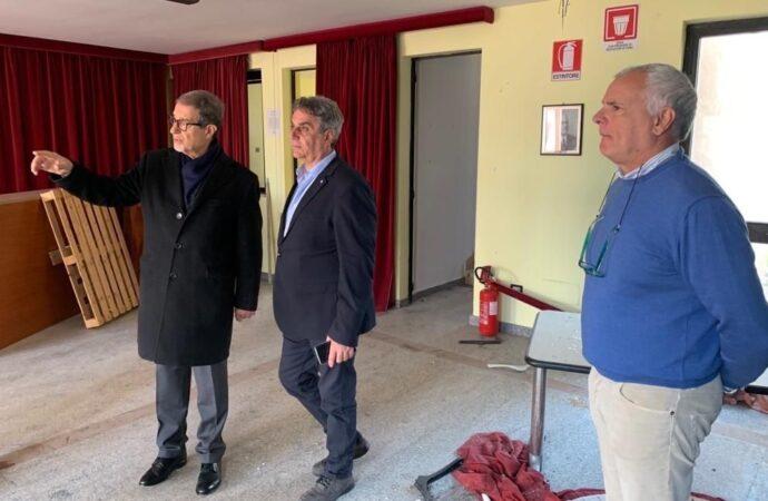 Il presidente Musumeci a Trapani, il teatro sarà restaurato e riaperto al pubblico