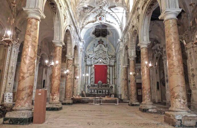 Castelvetrano, al via l'intervento strutturale nella chiesa del Purgatorio