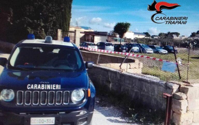Controlli dei carabinieri di Trapani sulla tutela ambientale, scattano due denunce