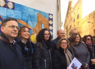 VIDEO – Il liceo Adria-Ballatore di Mazara ha donato al comune un pannello in ceramica realizzato dagli studenti
