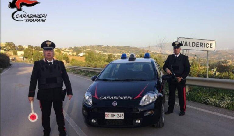 Valderice, un arresto e 4 denunce eseguite dai carabinieri