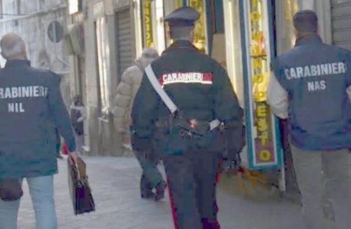 Mazara, controlli dei carabinieri in alcune ditte. Scatta una denuncia