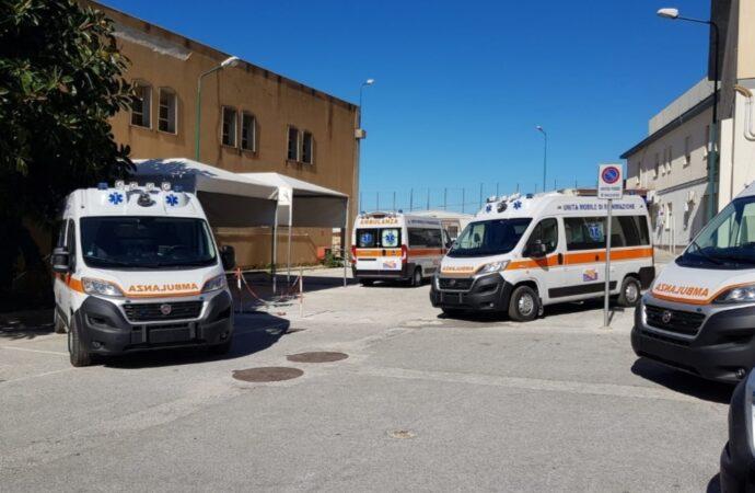 Sono arrivate le 8 ambulanze acquistate dall'Asp di Trapani