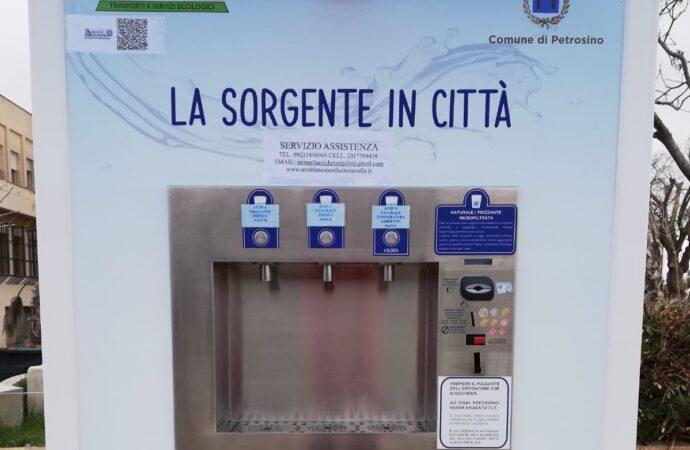 """In funzione a Petrosino la nuova """"Casetta dell'Acqua"""""""