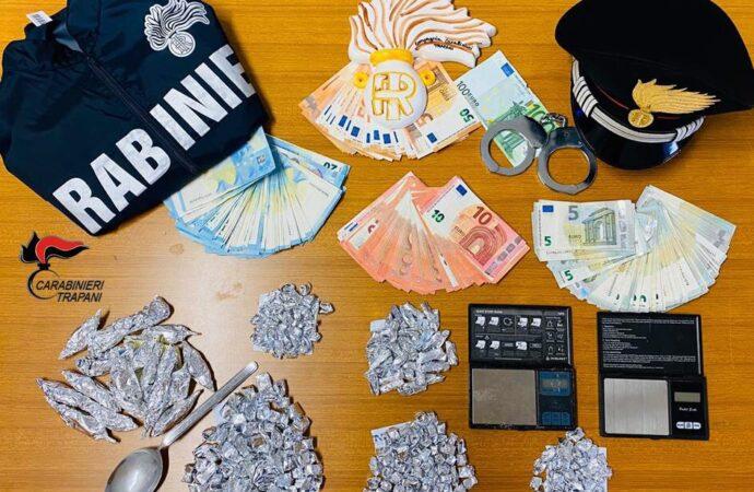 Due persone arrestate dai carabinieri di Trapani