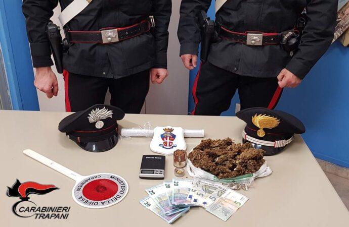 Trapani, un 36enne arrestato dai carabinieri per spaccio di droga