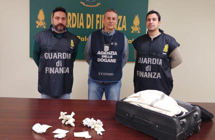 Controlli della Gdf all'aeroporto di Palermo, sequestrati coralli