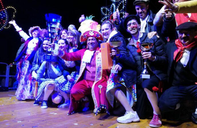"""Il carro """"Sicilia Beddra"""" vince l'edizione 2020 del Carnevale di Petrosino"""