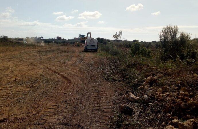 Petrosino, iniziati i lavori per il completamento della recinzione nella parte in ampliamento del cimitero comunale
