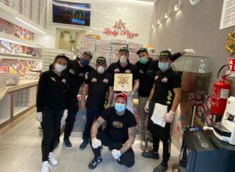 Coronavirus, iniziativa di solidarietà di una pizzeria a Mazara,con il supporto della Protezione civile
