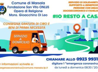 Coronavirus,prosegue a Marsala l'iniziativa di solidarietà sociale